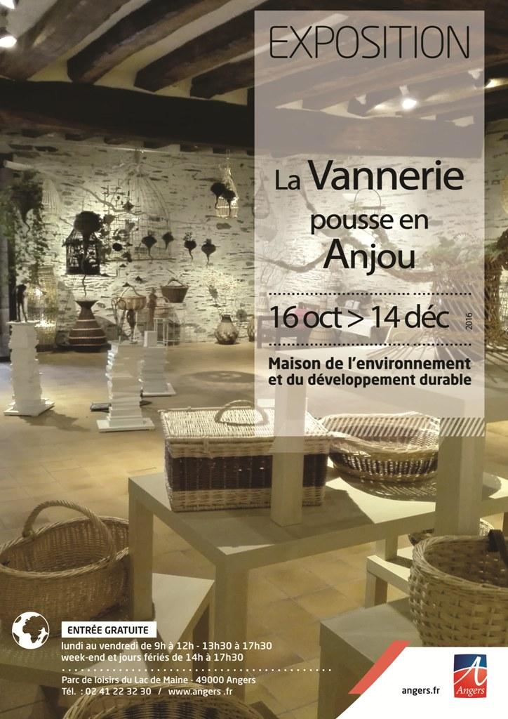 Exposition : la vannerie pousse en Anjou !