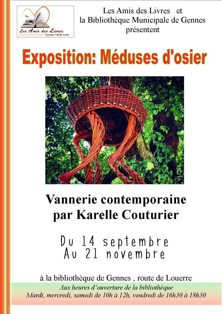 Affiche exposition vannerie