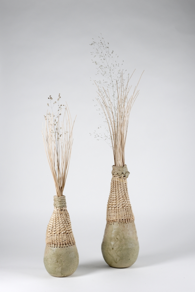 Atelier Brins de Malice - Vannerie d'Art - Sculptures fleuries Argile et Osier