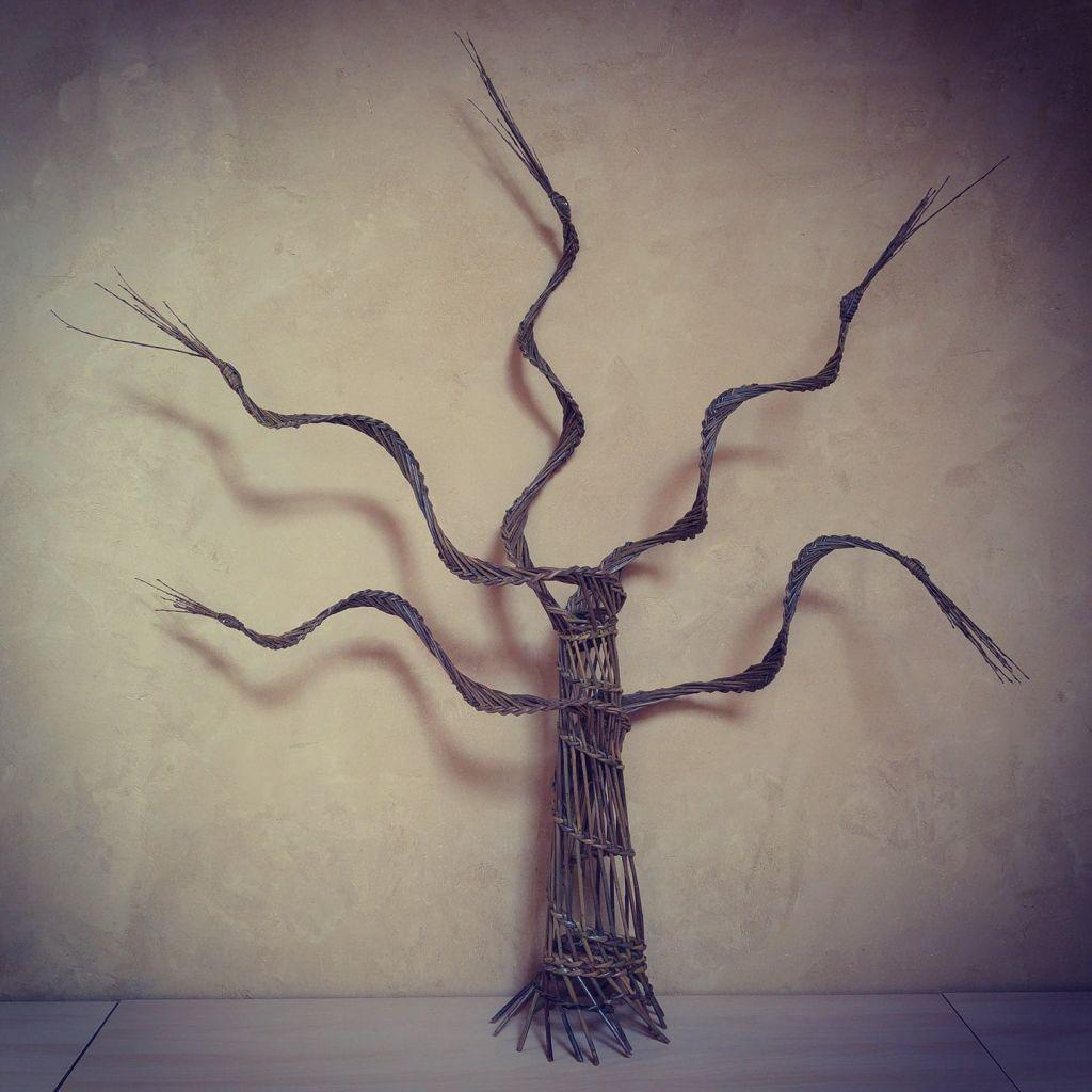 Atelier Brins de Malice - Vannerie arbre de vie en osier