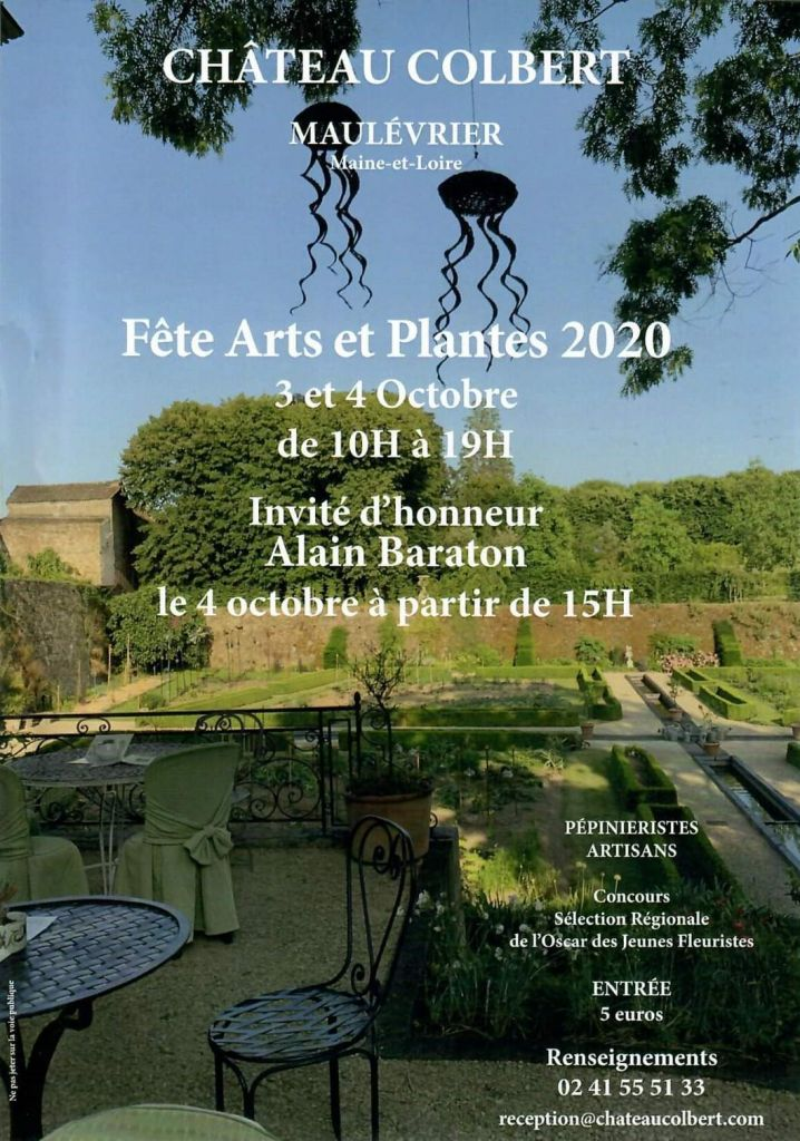 Fête Art et Plantes au Château Colbert