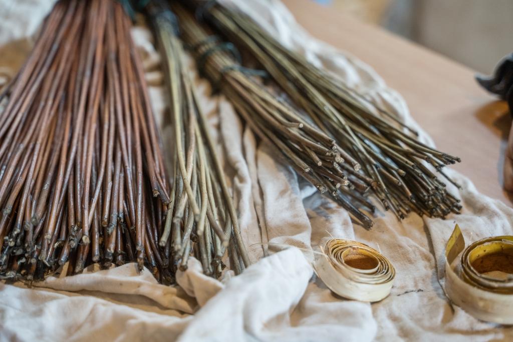 Atelier Brins de Malice - stage - vannerie - osier