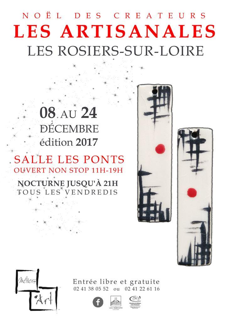 Atelier Brins de Malice - vannerie d'art - Les Artisanales Noël 2017
