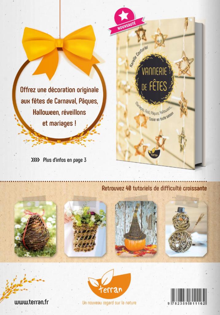 Idée cadeau vannerie de fêtes - Editions de Terran